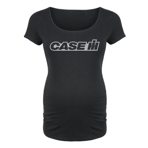 Case IH™ Logo Tone - Maternity Short Sleeve T-Shirt