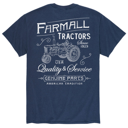 Farmall Tractors Vintage - Men's Short Sleeve T-Shirt