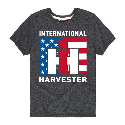 International Harvester™ - IH Flag - Toddler Short Sleeve T-Shirt
