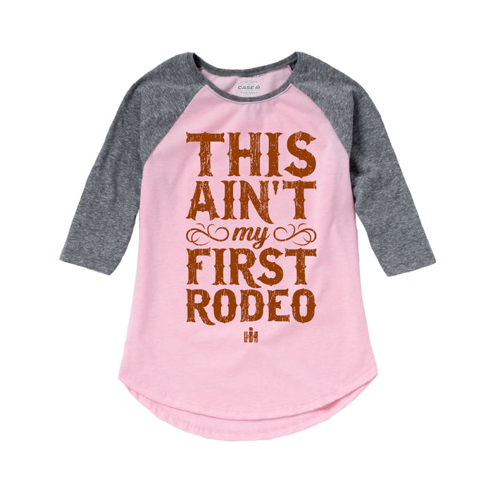 International Harvester™ This Ain't My First Rodeo - Toddler Girl Raglan