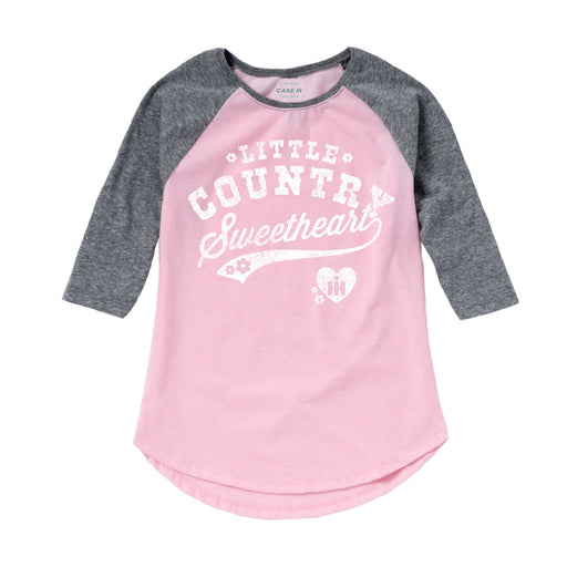 Toddler Girls Raglan