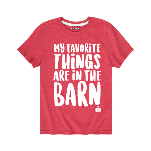 International Harvester™ My Favorite Things - Toddler Short Sleeve T-Shirt