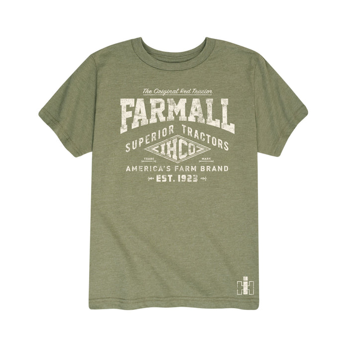 Farmall Youth Short Sleeve T-Shirt