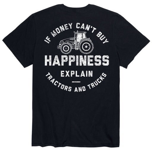 If Money Can't Buy Happiness - Men's Short Sleeve T-Shirt