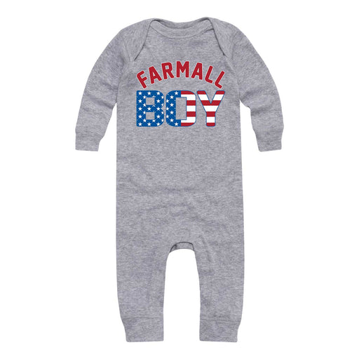 Farmall™ Boy Flag - Infant Long Sleeve One Piece
