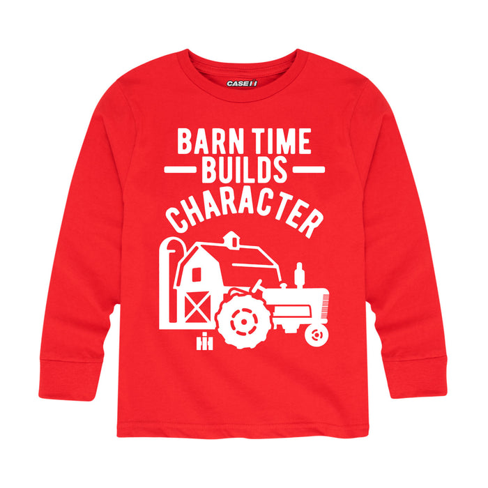 Farmall™ Barn Time Build Character -Toddler Long Sleeve T-Shirt