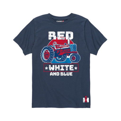 International Harvester™ Red White and Blue - Youth Short Sleeve T-Shirt