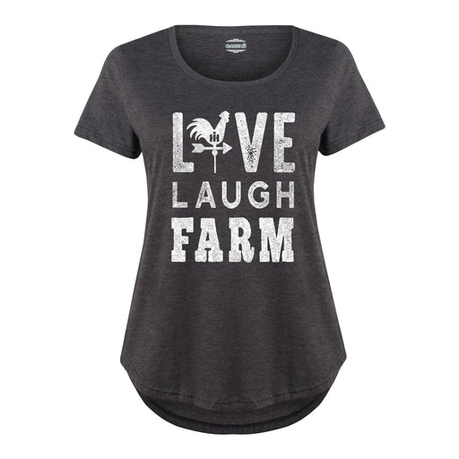 International Harvester™ Live Laugh Farm - Women's Plus, New Size T-Shirt
