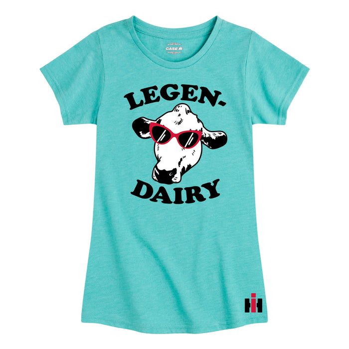 International Harvester™ - Legen - Youth & Toddler Girls Short Sleeve T-Shirt