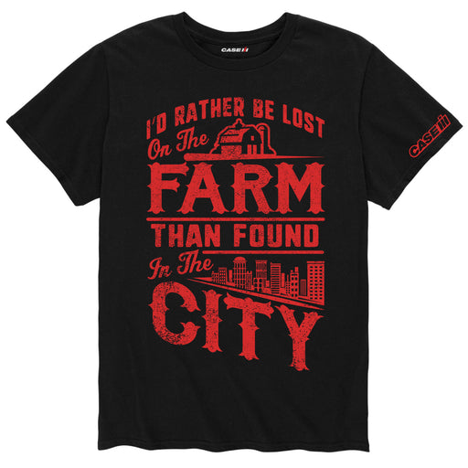 International Harvester™ I'd Rather Be Lost On The Farm - Men's Short Sleeve T-Shirt