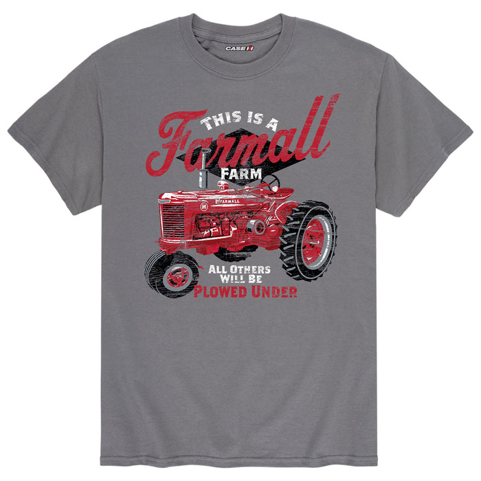 This is a Farmall™ Farm - Men's Short Sleeve T-Shirt