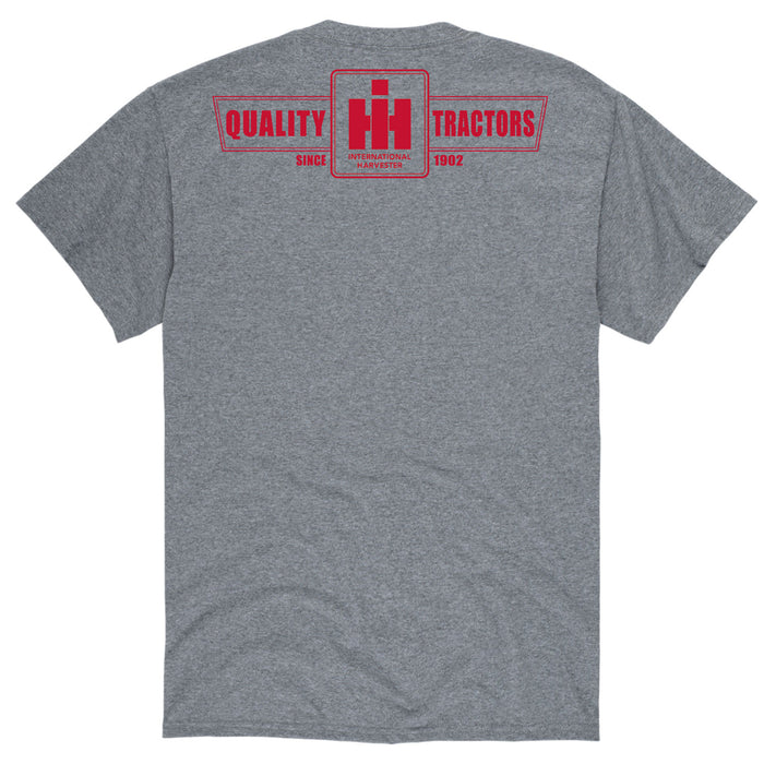International Harvester™ - Quality Tractors One Color - Men's Short Sleeve T-Shirt