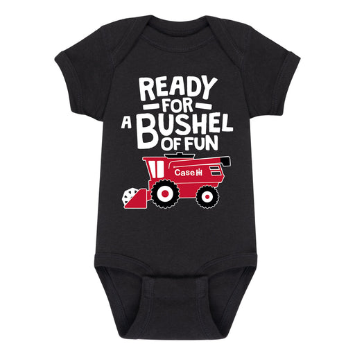 Ready For A Bushel Of Fun Case IH - Infant One Piece
