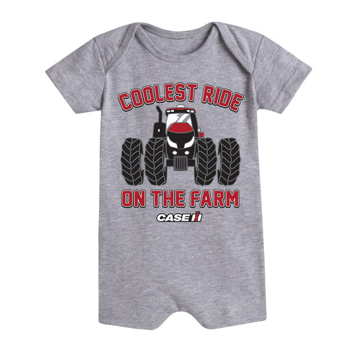 The Coolest Ride On The Farm Case IH - Infant Romper