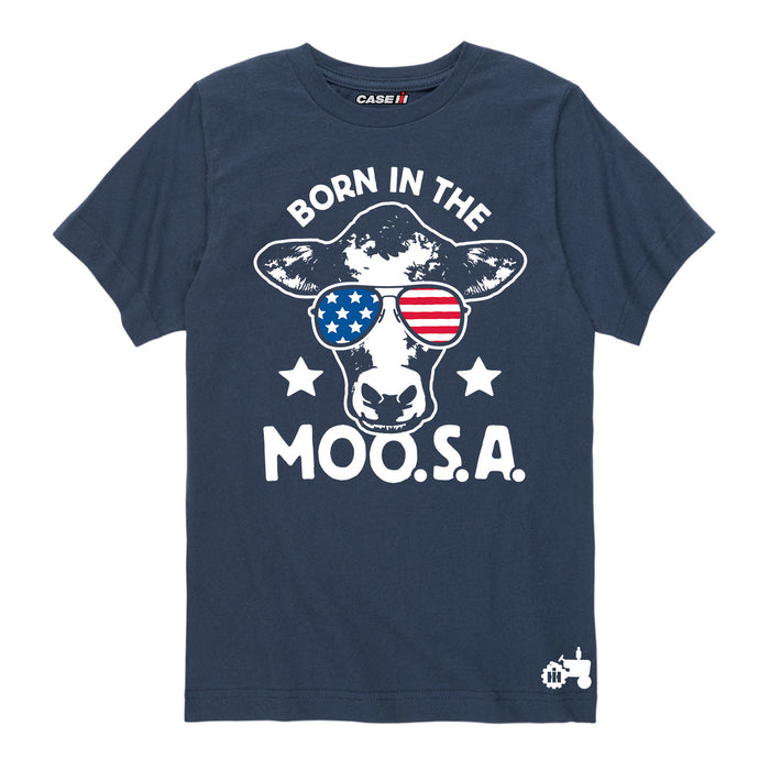 International Harvester™ - Born in the Moo SA - Youth & Toddler Short Sleeve T-Shirt