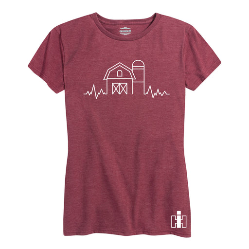 Farm Heartbeat International Harvester™ - Women's Short Sleeve T-Shirt