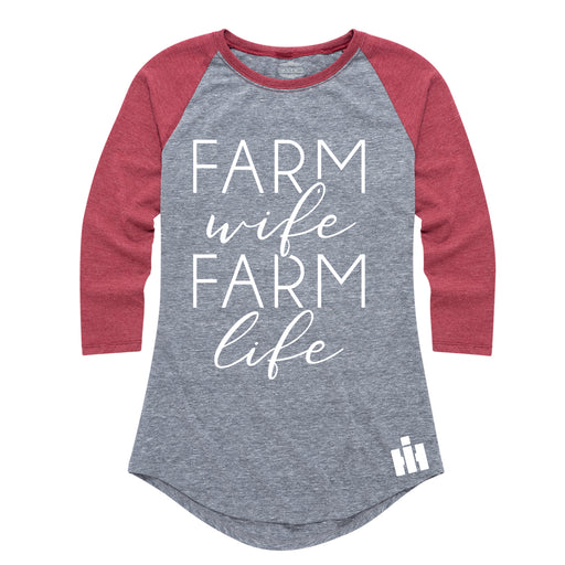 Farm Wife Farm Life - Women's Raglan