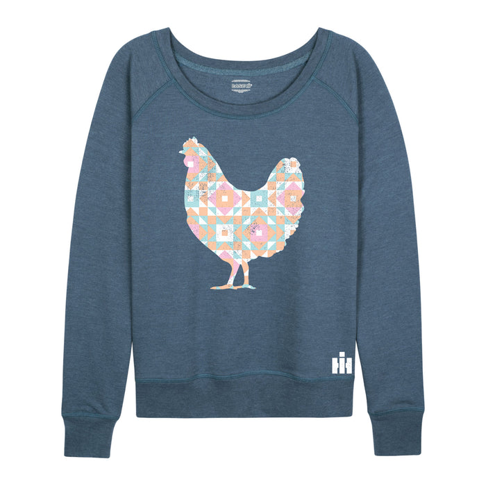 International Harvester™ - Patchwork Chicken - Women's Slouchy