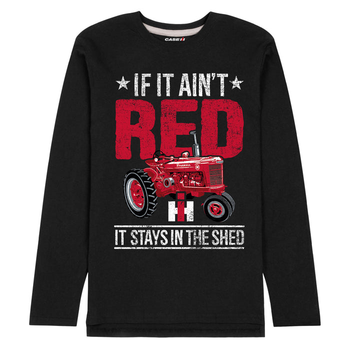 If It Ain't Red it Stays In The Shed - Men's Long Sleeve T-Shirt