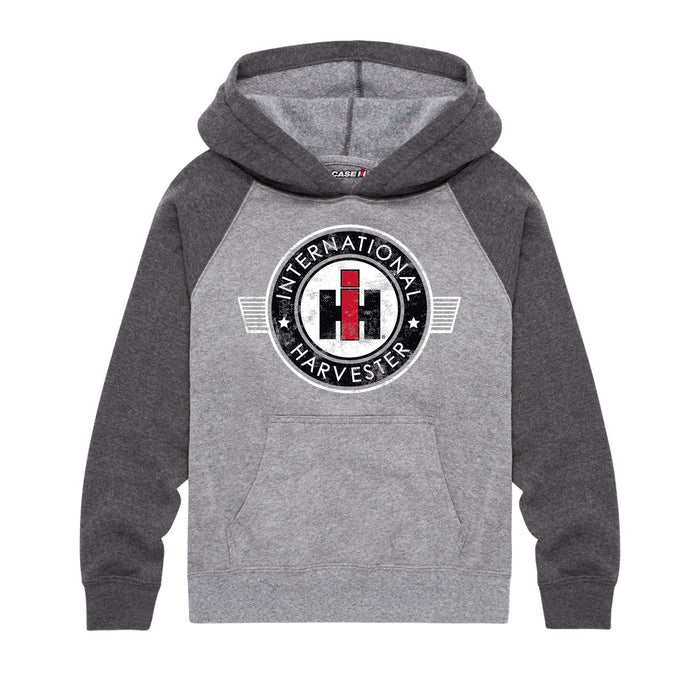 International Harvester™ - Round Crest - Youth & Toddler Hoodie