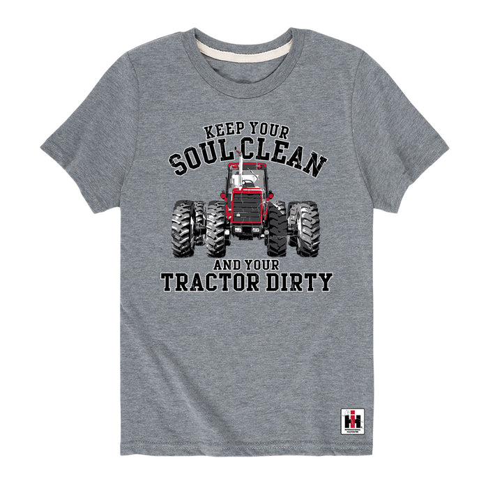Keep Your Soul Clean International Harvester™ - Youth Short Sleeve T-Shirt