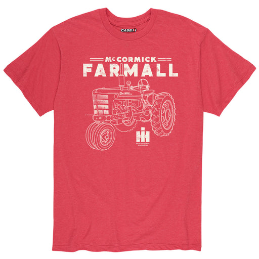 Vintage Farmall™ -  Farmall Vintage - Men's Short Sleeve T-Shirt