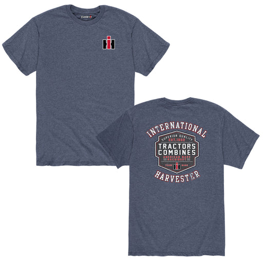 International Harvester™ - Tractors Combines Shield - Men's Short Sleeve T-Shirt