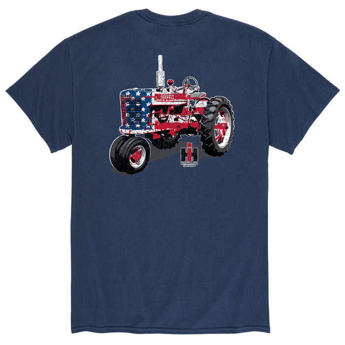 International Harvester™ - Patriotic Farmall - Men's Short Sleeve T-Shirt