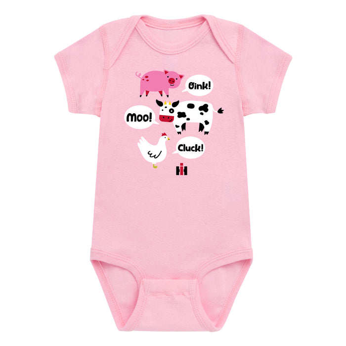 International Harvester™ - Farm Animal Noises - Infant One Piece