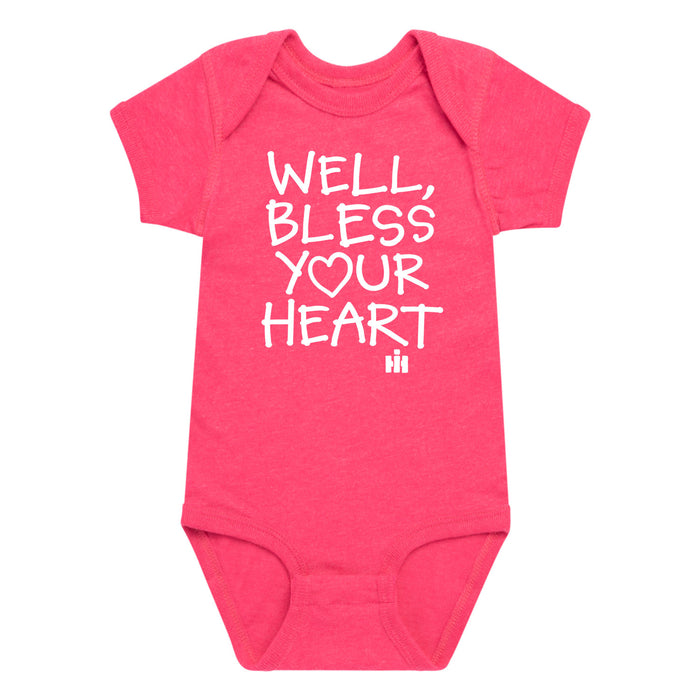 International Harvester™ - Well Bless Your Heart - Infant One Piece