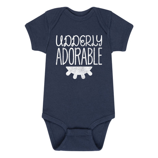 Udderly Adorable Infant Short Sleeve Body Suit