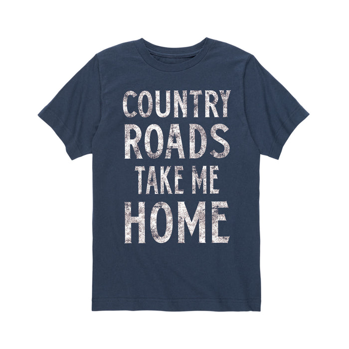 Country Roads Take Me Home - Toddler Short Sleeve T-Shirt