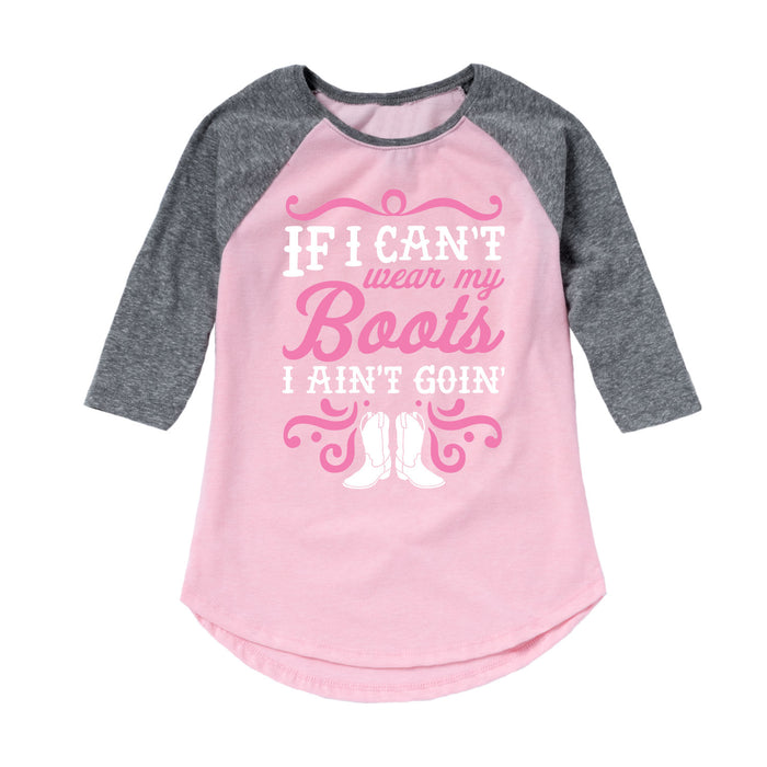 Toddler Girl Raglan Shirt
