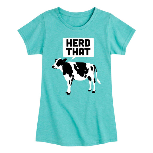 Herd That - Youth & Toddler Girls Short Sleeve T-Shirt