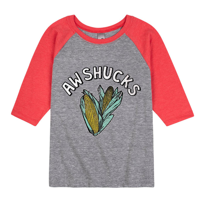 Aw Shucks - Youth & Toddler Raglan
