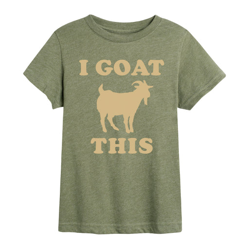 I Goat This - Toddler Short Sleeve T-Shirt