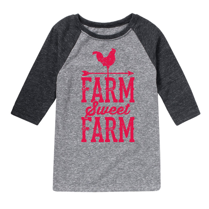 Toddler Boys Raglan Shirt