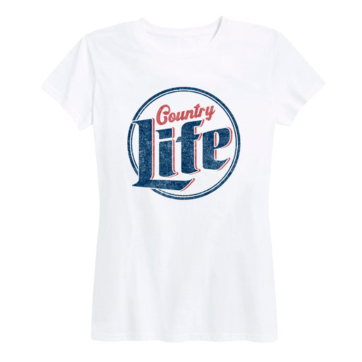 Country Life Beer Logo - Women's Short Sleeve T-Shirt