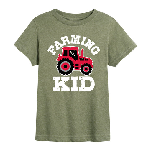 Farming Kid - Toddler Short Sleeve T-Shirt