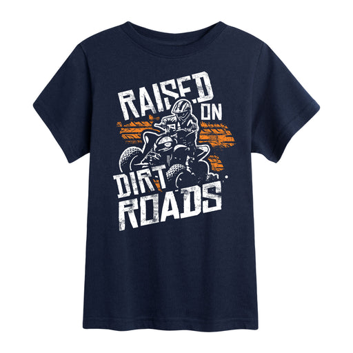 Raised On Dirt Roads - Toddler Short Sleeve T-Shirt