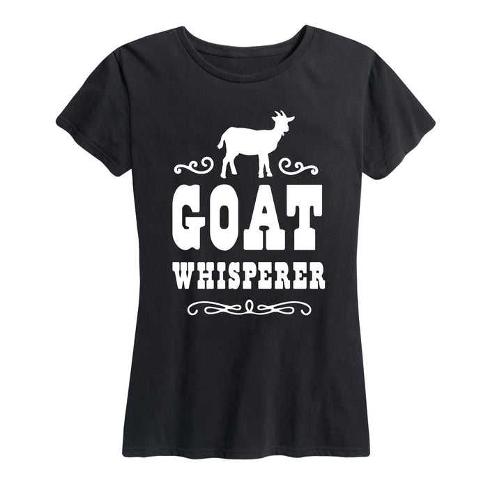 Goat Whisperer - Women's Short Sleeve T-Shirt