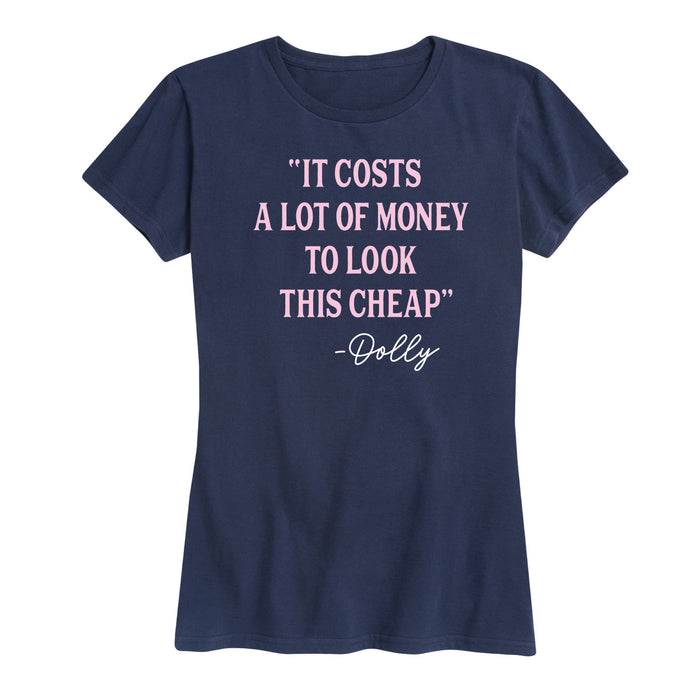 It Costs A Lot Of Money - Women's Short Sleeve T-Shirt