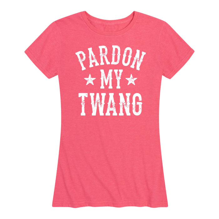 Pardon My Twang - Women's Short Sleeve T-Shirt