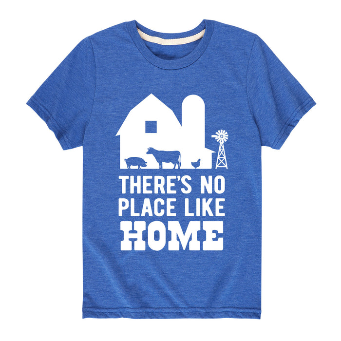 There's No Place Like Homes - Youth & Toddler Short Sleeve T-Shirt