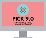 PICK Instructor Certification Packet with 9.0 Instructor Plug-n-Play Videos/PowerPoint