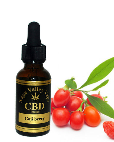 100mg CBD Hemp Stalk  E Liquid vape e juice Hemp Vape 15ml Goji berry