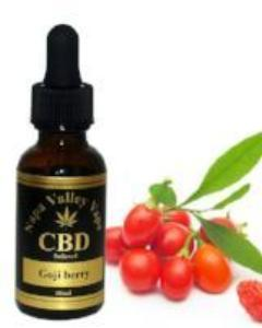 1000mg CBD Hemp  Stalk E Liquid vape  e juice HempVap 30ml Goji berry