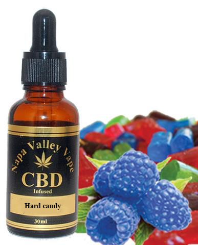 E Liquid vape 200mg CBD Hemp Stalk Hemp Vape 15ml  raspberry Hard candy