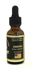 Copy of A Premium 1000mg 30ml CBD Hemp Stalk E Liquid with Strain Specific Organic Terpene Blend Mango kush