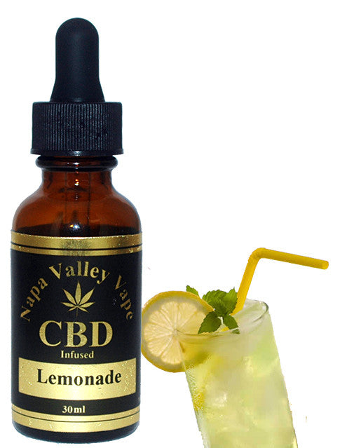 600mg CBD Hemp Stalk E Liquid vape e juice HempVap 30ml Lemonade